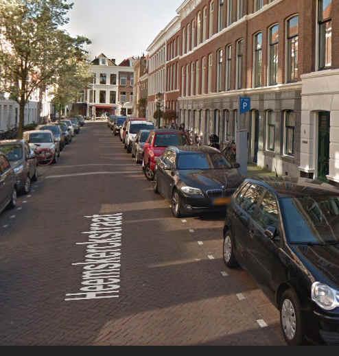 Parkeerzuil Heemskerckstraat